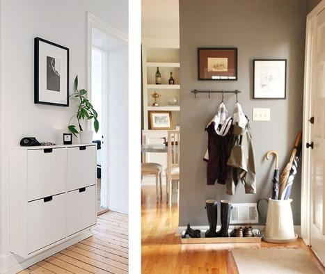 La Fabrique à Déco: Aménager une entrée ou un vestibule | Astuces pratiques Déco | Scoop.it