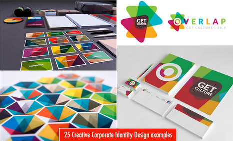 25 Creative Corporate Identity and Branding Design examples | Las Marismas Photography | Scoop.it