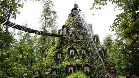 Photo de la semaine : l'hôtel Montaña au Chile - Eurotel Group | Voyages | Eurotel Group | Scoop.it
