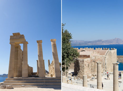 Lindos, Village typique et Acropole #Rhodes #Dodecanese #Grece | travelling 2 Greece | Scoop.it