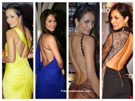 Maliaka Arora in Designer Fashionable Backless Dresses for Women | Indian Fashion Updates | Scoop.it