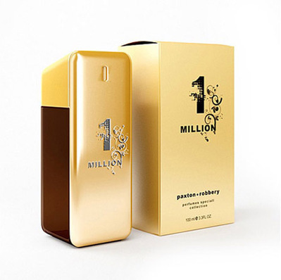 Parfum One million 3D | 3D Library | Scoop.it