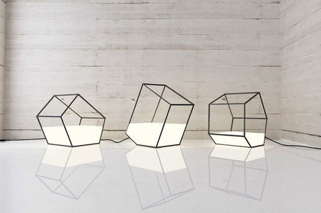 Des lampes conteneurs à lumières | Bouche à Oreille | Scoop.it