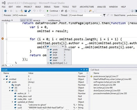 Introducing node.js Tools for Visual Studio - Scott Hanselman | Javascript Chaos | Scoop.it