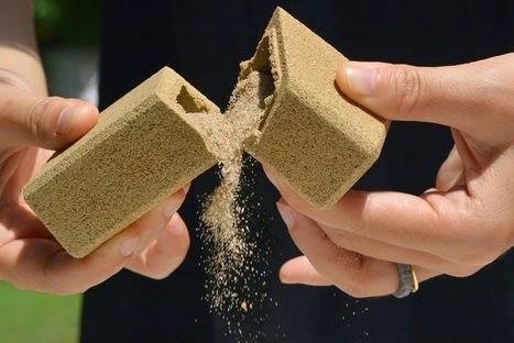 Embalagem totalmente feita de areia | Design | Scoop.it