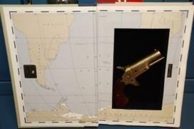 Une arme à feu retrouvée dans un livre de Robert Stone | Bibliolecture | Scoop.it