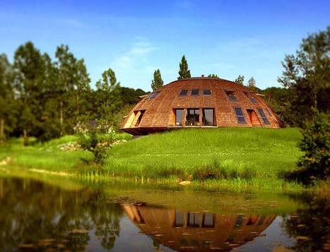 [inspiration] Maison ronde bois - maison ronde ossature bois | décoration & déco | Scoop.it