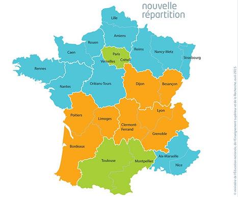 Géographie de la nouvelle carte des vacances scolaires-Éduscol HG | Veille histoire | Scoop.it