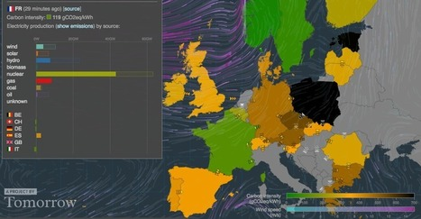 Electricity Map | Live CO2 emissions of the European electricity production | Food LCA | Scoop.it