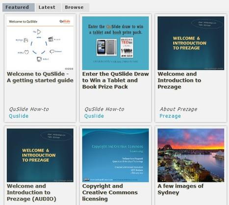 QuSlide by Prezage ® | effective presentation | Scoop.it