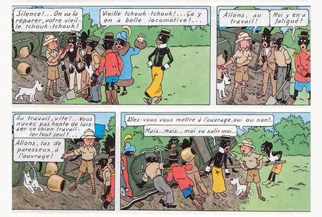 Tintin et le racisme | Mon moleskine | Scoop.it