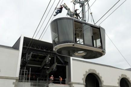 La première cabine du téléphérique de Brest installée | transports par cable - tram aérien | Scoop.it