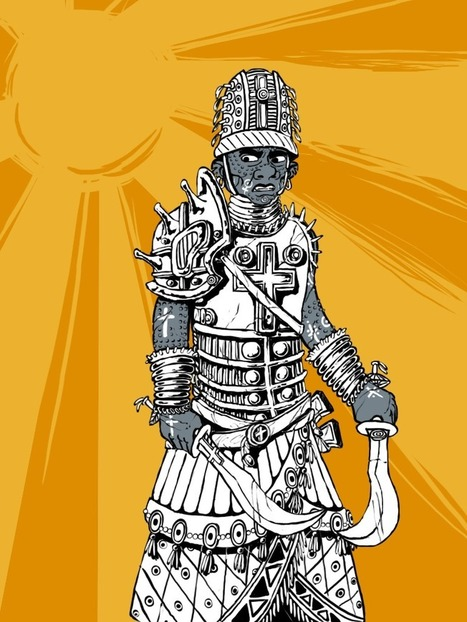 Bits and Scribbles, A Fonritan Slave-Soldier. What's this? This isn't... | Glorantha News | Scoop.it