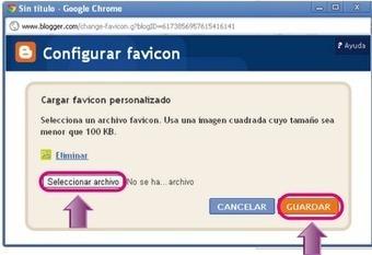En la nube TIC: Poner un Favicon (favicono) a tu web | EDUDIARI 2.0 DE jluisbloc | Scoop.it