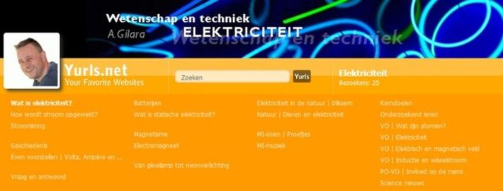 Edu-Curator: Nieuwe Yurls van Andre Gilara: Elektriciteit | Educatief Internet - Gespot op 't Web | Scoop.it