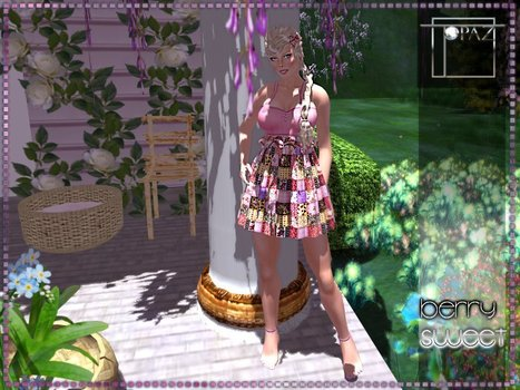 Berry Sweet Pink Dress by Topaz Square | Teleport Hub - Second Life Freebies | Second Life Freebies | Scoop.it