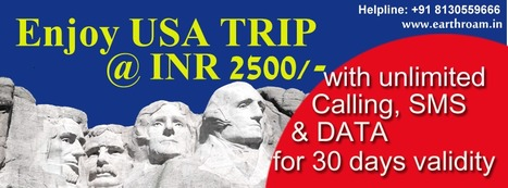 USA Plan | Buy Earth Roam International SIM Cards at Cheapest Rate. | Scoop.it