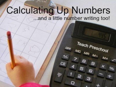 Calculating up numbers in preschool | Teach Preschool | Scoop.it