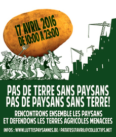 Journée des Luttes paysannes - 17 avril 2016 | Alimentation21 | Scoop.it