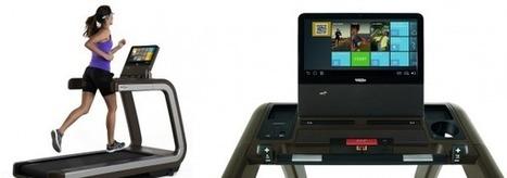 Technogym presenta il primo tapis roulant comandato dai Google Glass   webpointzero.com   Technogym   Scoop.it