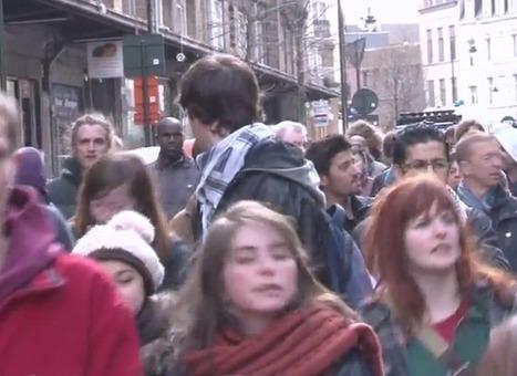 Manifestation de soutien aux grévistes a l'VUB (Vrije Université Brussel) | Occupy Belgium | Scoop.it