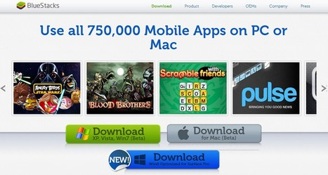 Run Mobile Apps on Windows PC or Mac with BlueStacks | omnia mea mecum fero | Scoop.it