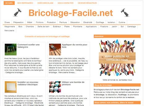 Bricolage-Facile.net • Conseils et astuces en bricolage et outillage | Bricolage | Scoop.it
