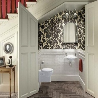17 Tiny Bathrooms We Love | Modern Home: Green, Clean, and Beautiful | Scoop.it