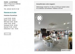 Le Store Locator, la e-boussole qui mène aux magasins | Web Innovation | Scoop.it