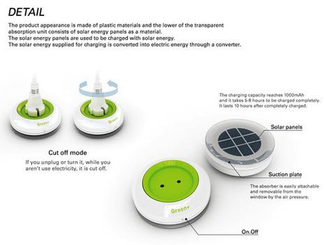 Enchufe solar para ventanas que genera electricidad by Kyuho Song & Boa Oh | Activism, society and multiculturalism | Scoop.it