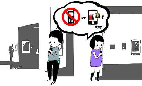 Téléphone portable au musée : permis ou interdit   Art contemporain et culture   Scoop.it