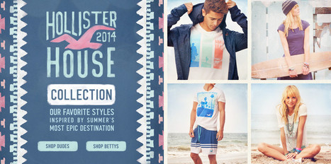 Hollister Co. | So Cal inspired clothing for Dudes and Bettys | Stuff | Scoop.it