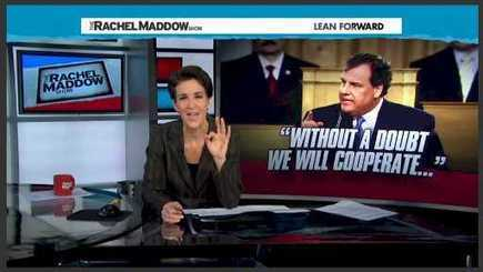 Daily Kos: Rachel Maddow Destroys Any Credibility Chris Christie Might Think He Still Has | Upsetment | Scoop.it