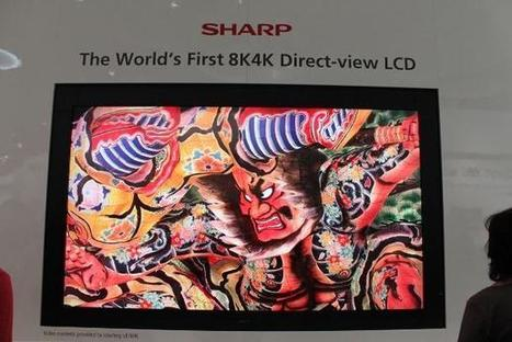 Sharp offers up an 85-inch 8K 3D TV... yes, 8K! | online shopping 2014 | Scoop.it