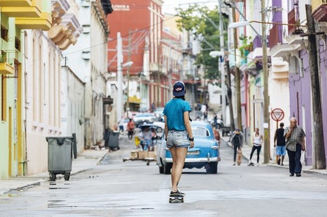 Cuba's Female Skaters Ride for a More Open Future on the Island | A Voice of Our Own | Scoop.it