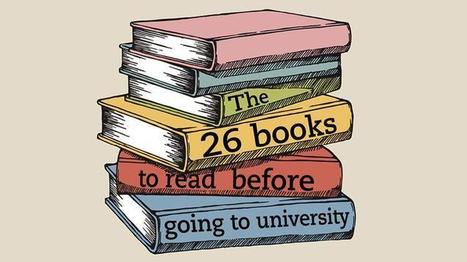 The 26 books to read before going to university | Counselling | Scoop.it