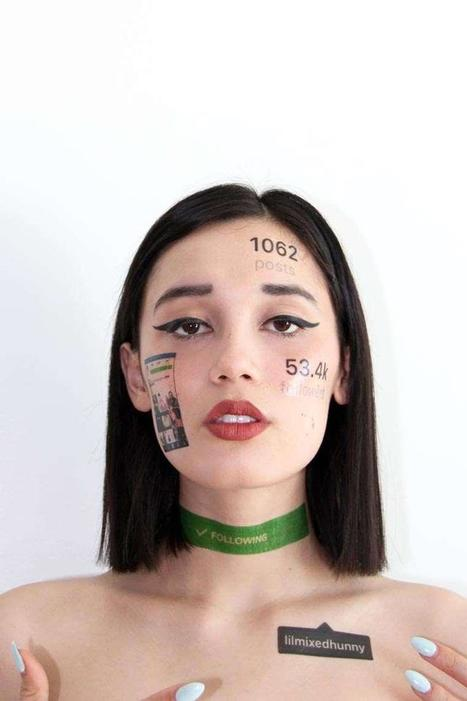 Temporary social media tattoos : les réseaux sociaux dans la peau | Enseignement Supérieur & Innovation | Scoop.it