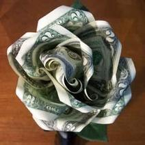 How to Make a Money Rose   Wacky Crafts   Scoop.it
