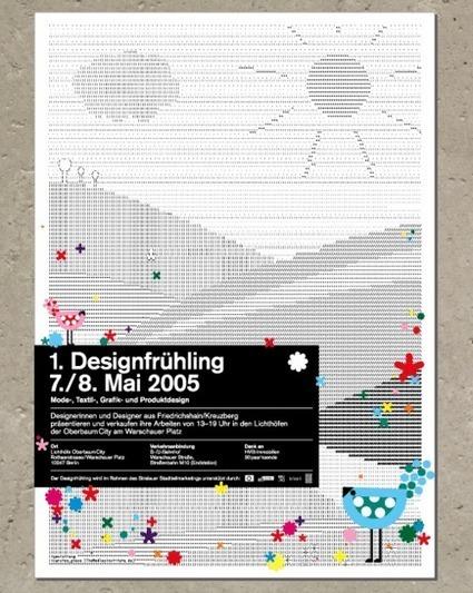 Poster by Studio Regular, 2005. via | ASCII Art | Scoop.it