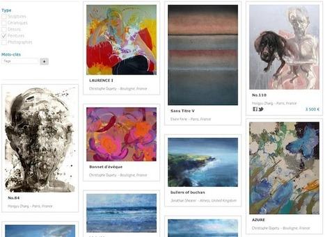 La startup du jour : Artistics, pour acheter des œuvres directement auprès des artistes | Culture & Entertainment - Digital Marketing | Scoop.it