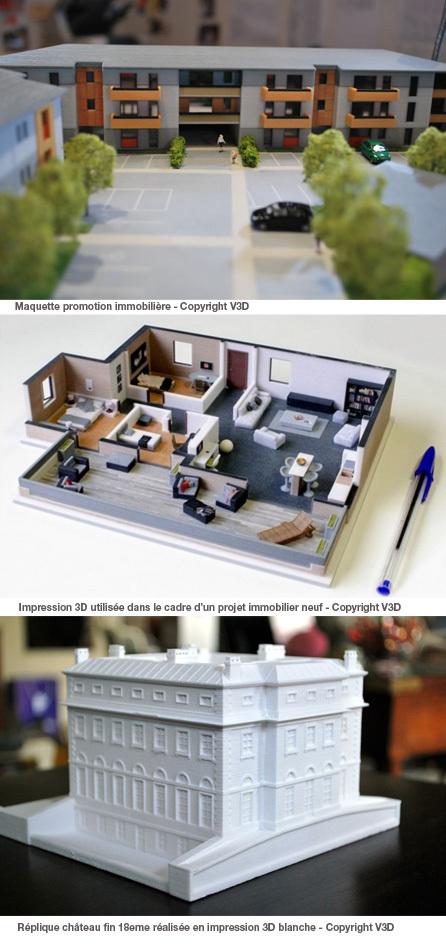 Imprimez vos projets immobiliers en 3D   Salon Virtuel permanent dédié à l'immobilier et à l'habitat   Scoop.it