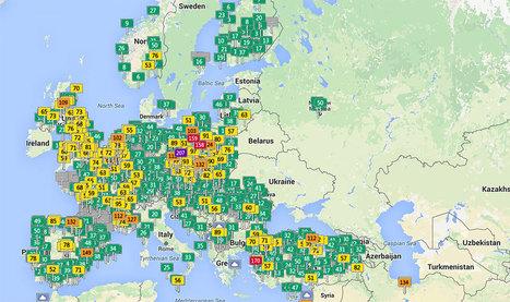 Observez en temps réel le niveau de pollution des villes du monde entier grâce à cette carte interactive | Toxique, soyons vigilant ! | Scoop.it