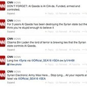 CNN's Twitter, Facebook Hacked by Syrian Electronic Army | Business | Scoop.it