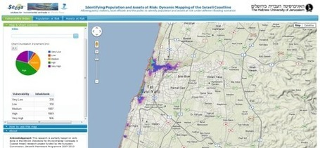 Israel Under Water in Google Maps | Geospatial Industry | Scoop.it