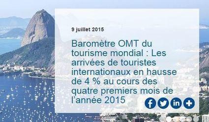 Les arrivées de touristes internationaux en hausse de 4 % au cours des quatre premiers mois de l'année 2015 | Le site www.clicalsace.com | Scoop.it