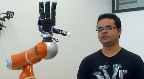 This robot arm with super fast reflex is awesome but what purpose may it serve? (Video) | leapmind | Scoop.it