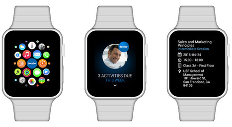 A story about John & his Apple Watch elearning app.  #toldyouso | Apple in Business | Scoop.it