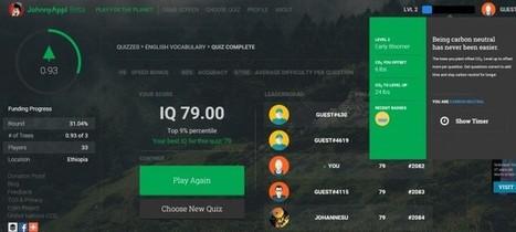 Un juego online que ayuda a plantar árboles en varios países | Educacion, ecologia y TIC | Scoop.it