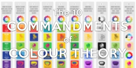 The 10 Commandments of Colour Theory   MakeUseOf   21st Century Teaching and Learning   Scoop.it