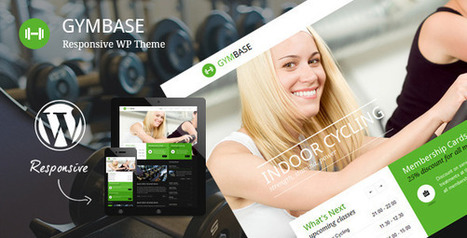 GymBase - Responsive Gym Fitness WordPress Theme   Medical wordpress themes   Scoop.it